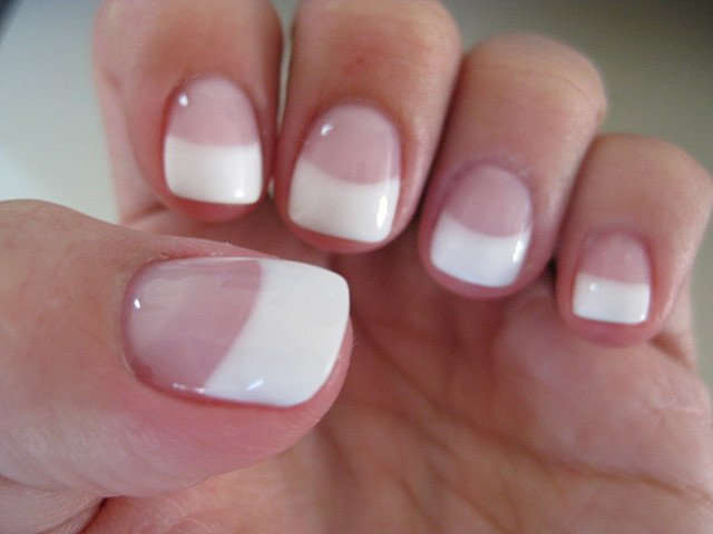 brillo natural - Manicura Francesa Facil