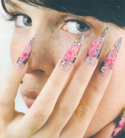 Unas decoradas hello kitty gel hawaii dermatology pictures - Decoracion de unas gel ...